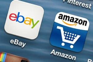 marketplaces amazon ebay mobile apps icon