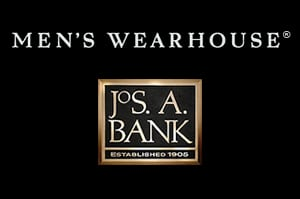 Men's Wearhouse and Jos. A. Bank logos