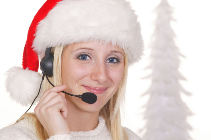 holiday contact center rep