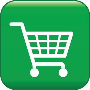 green-shopping-cart-button-300