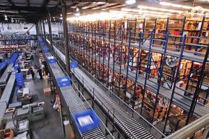 ecommerce distribution center
