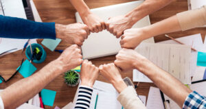 company culture fist circle feature