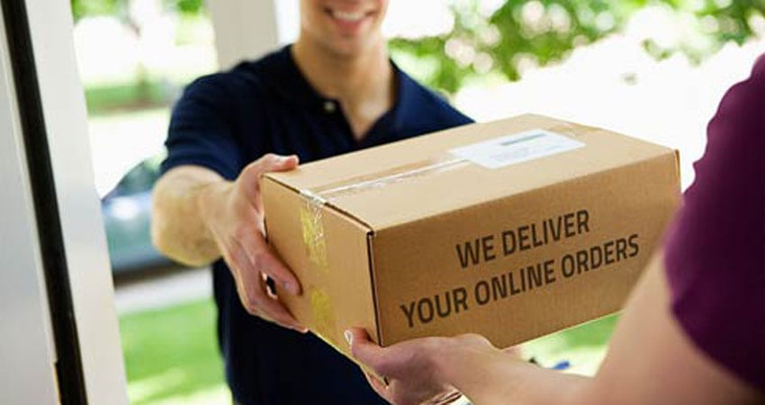The final step in dropshipping order fulfillment is deliver the products to the end customer.
