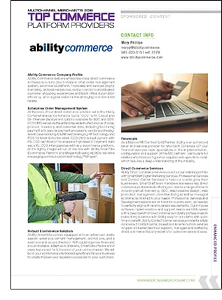 Ability Commerce Company Profile