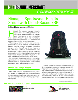 Hincapie Sportswear Special Report