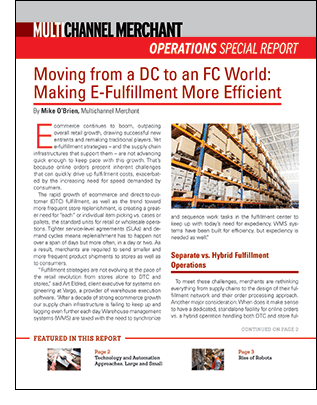 Moving from a DC to an FC World Special Report