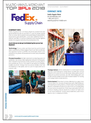 FedEx Supply Chain Company Profile