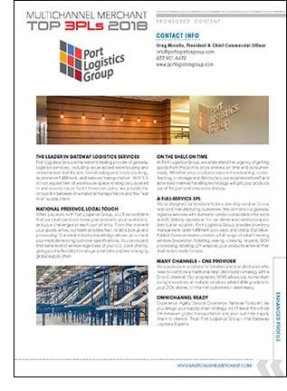 Port Logistics Group Company Profile