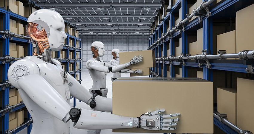 Image result for robot warehouse