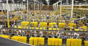Amazon fulfillment center feature