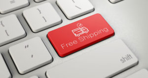customers free shipping