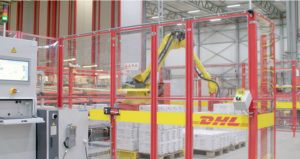 DHL eCommerce robot arms feature