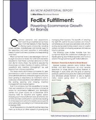 MCM FedEx Special Report