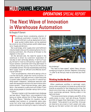 Warehouse Automation Special Report