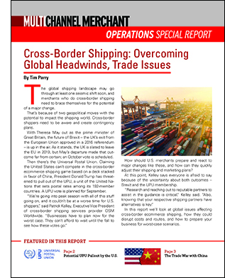 MCM Osram Sponsored Cross Border Shipping Special Report