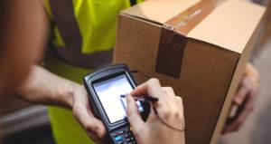 parcel volume scanning