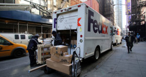 FedEx stepvan feature