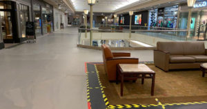 shopping malls empty coronavirus
