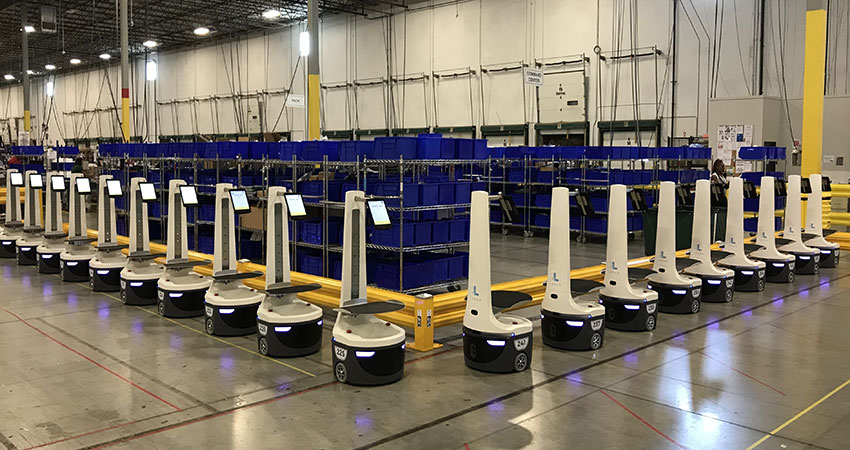 Locus robots feature