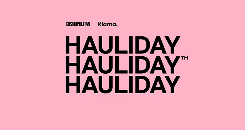 Klarna and Cosmo Hauliday 2020