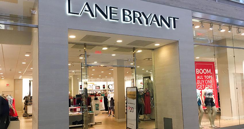 Lane Bryant mall store