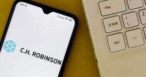 C.H. Robinson on mobile phone