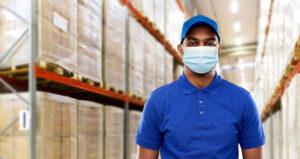 covid mask warehouse guy