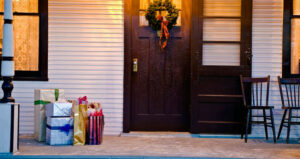 holiday packages at the door feature