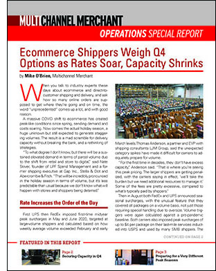 Pitney Bowes Special Report Cover