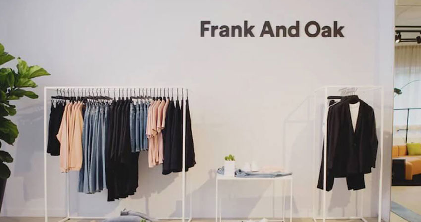 Frank and Oak store feature