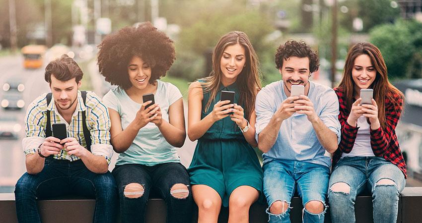 millennials on phones feature