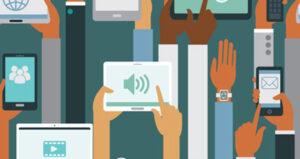 consumer behavioral data illustration mobile feature
