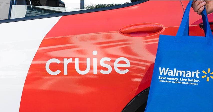 Walmart-Cruise autonomous test feature