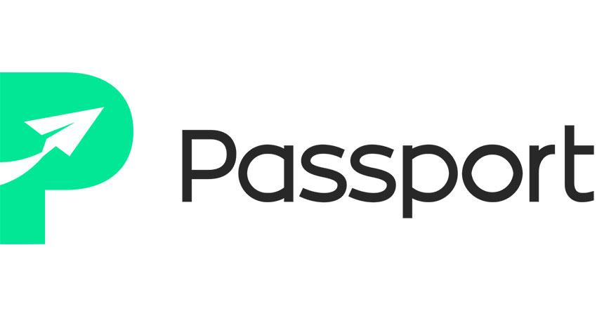 international parcel shipping passport logo feature