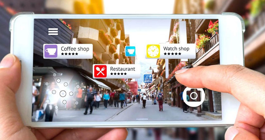 augmented reality marketing feature