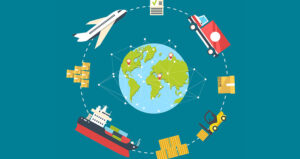 sustainable shipping illustration feature