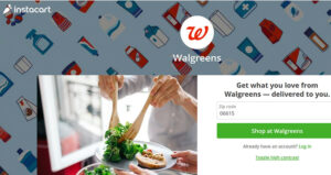Walgreens Instacart feature