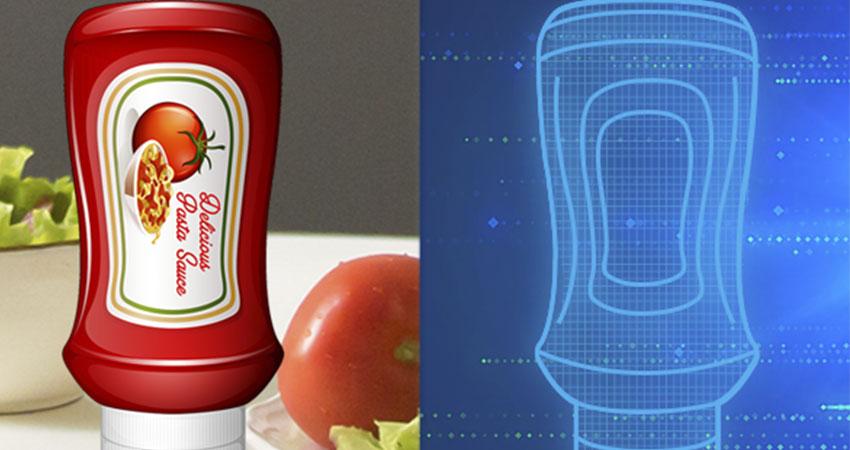 digital twins bottle feature