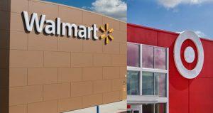 Walmart-Target facades feature