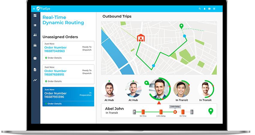 FarEye screenshot feature