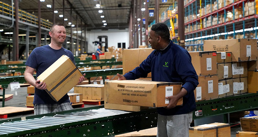 ecommerce fulfillment AEO workers