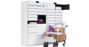 Pitney Bowes smart lockers feature