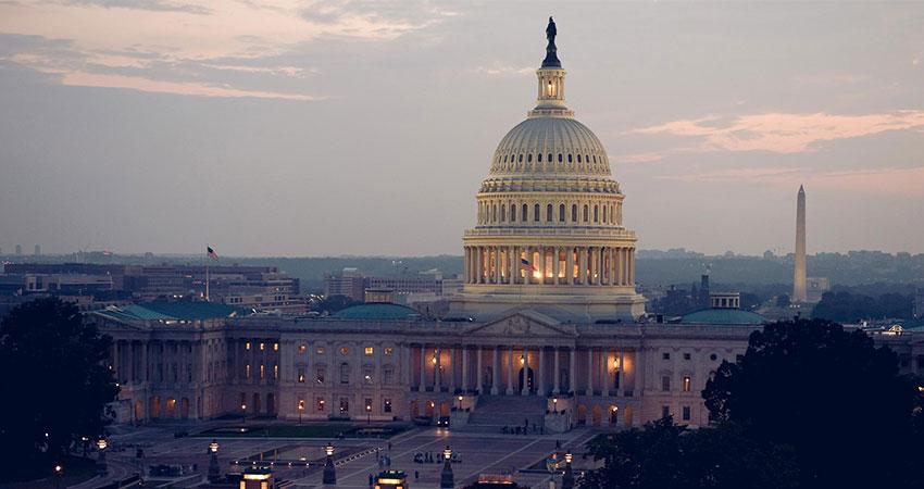 U.S. Capitol building feature